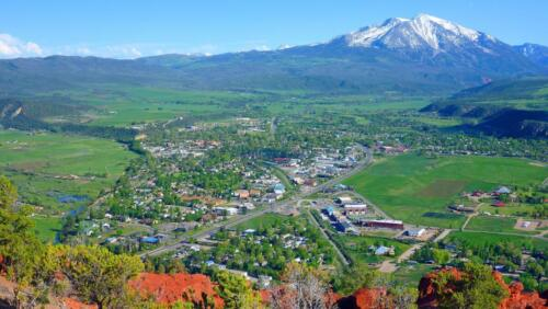 Mount Sopris from Red Hill peak